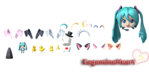 21 Accesory F2nd/FT!! by Kagamineheart
