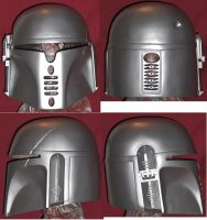 mando helmet progress by snake682