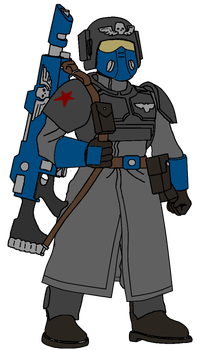 3rd Company Guardsman by SigvardSteel