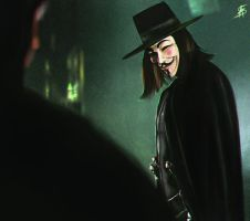 V for Vendetta by TheSig86