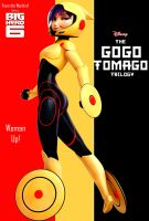The Epic Go Go Tomago Trilogy Poster Design by timbox129