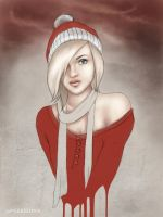 christmas not in time by LadaSeredina
