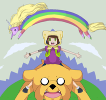 Adventure Time by Motyl-chan