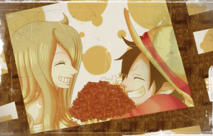 [ONE PIECE OC] Just A Random Pic for Valentine Day by RosiieChan