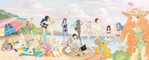 Summer Sun 2013. Big Collab. by Risoluce