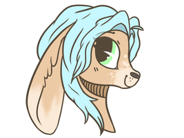 Bunny- Headshot Commission by InkBlu