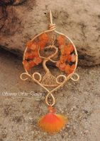 Phoenix Tree of Life *SOLD* by SerenityWireDesigns