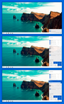 Windows 10 Emerald Action Center by lukeled
