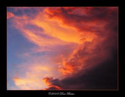 Clouds on fire 5 by YingSiYang