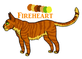 Fireheart Reference Sheet by o0Masked-Bandit0o