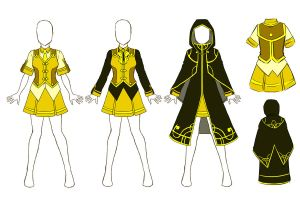 Aoh Flavescens Uniform F by baka-kiiro