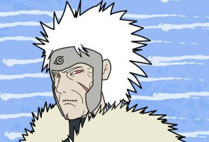 Tobirama Old by jimjimfuria1