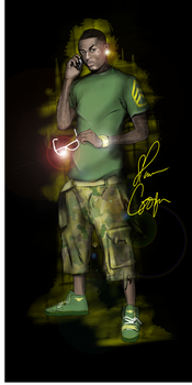 Soulja Boy Halo Edition by cortezgraffix