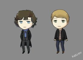 Sherlock and John by koilyn
