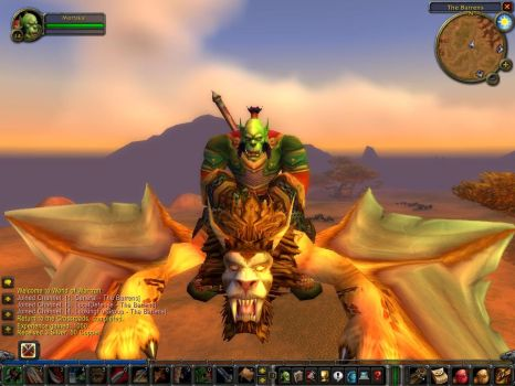 Me Riding a.....i dont know... by Mortakai