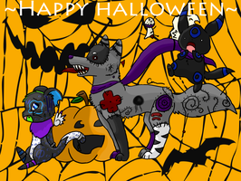 Happy Halloween 8D by Kitsumon