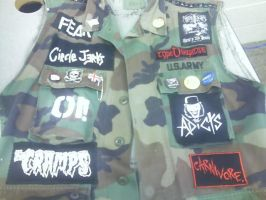 my punk vest front by armoraxer69