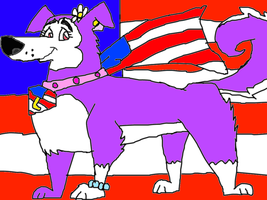 Liberty the Superdog by conlimic000