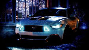 Need For Speed - 30 Seconds to Mars Mustang by ZaneNightstrider
