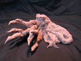 Cthulhu sculpture soon to be a resin kit 2 by RavendarkCreations