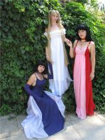 Moon, Mars, Saturn by LoveSenshi