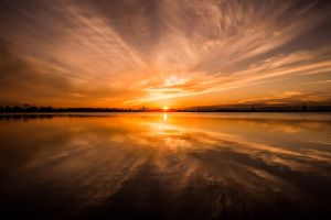 Reflection of the Sun by RobertRobledo