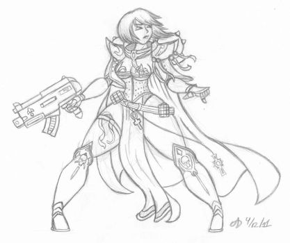 Sister of Battle by ArchangelDreadnought