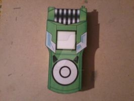 Ryouma's Fusion Loader Digivice PaperCraft by SuperVegeta71290