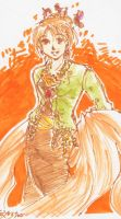 Nami in a kebaya by tennenrishin