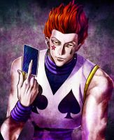 Hisoka 8 (hxh) by Acetaris