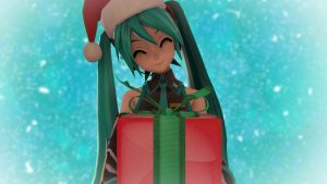 Happy Hatsune Holidays by arrcs