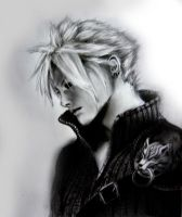 Cloud Strife by ZeePonj