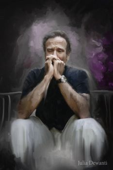RIP Robin Williams 2 by JDewantiArt