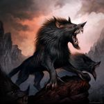 Wargs on the Prowl by KatePfeilschiefter