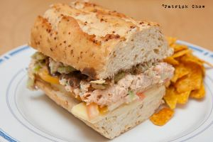 Salmon sandwich 2 by patchow