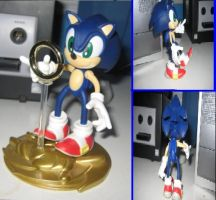 Resaurus Sonic figure by sonic-fan-guy