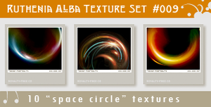 Texture Set 09: Space Circle by Ruthenia-Alba