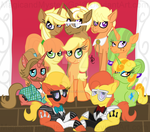 The Apple Family by MagicandMysteryGal