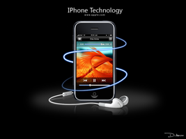 IPhone technology wallpaper by amine5a5