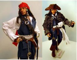 Captain Jack Sparrow by Sla-r