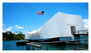USS Arizona Memorial by XXI-VIII