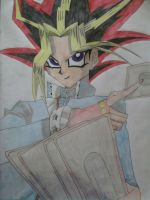 Yami Yugi Coloured by TreasureOfTheSands