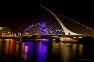 Samuel Beckett Bridge by NathalieHannes