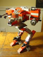 Lego Battlemech by Dawley