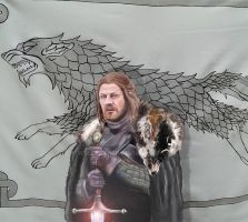 Eddard of the House Stark by WulfFather