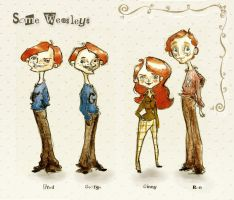 Some Weasleys -HP- by LadyLotte