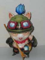 Teemo Papercraft by zhefiroth