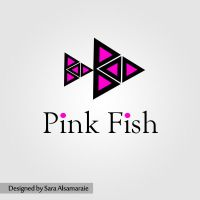 Pink Fish1 by rosesfairy
