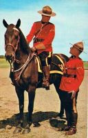 Canadian Mounties by Yesterdays-Paper