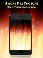 iPhone Fire Photons by RealityOne